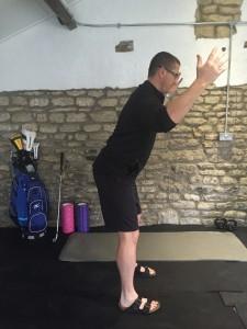 Golf Shoulder Rotation